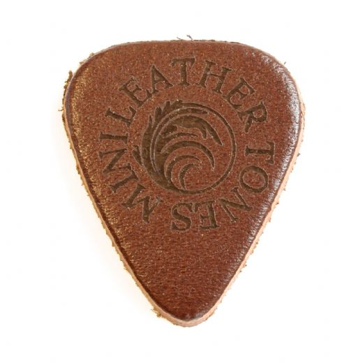 Leather Tones Mini Whisky Leather 1 Guitar Pick